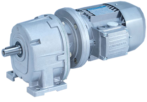 Inline helical geared motors bevel helical gear motors High efficiency motors
